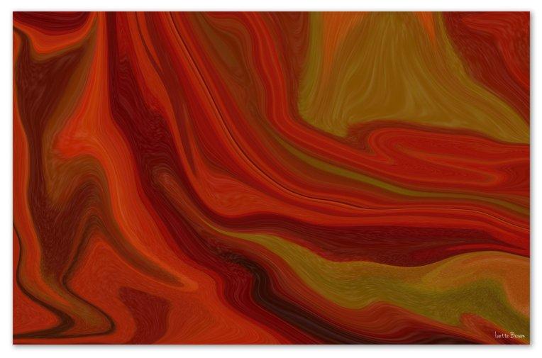 abstract bladerenkader